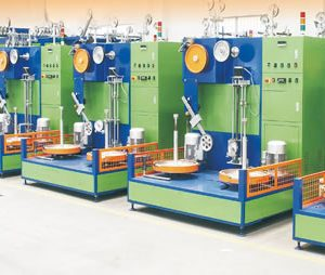 中速卧室漆包机 medium speed rooming enameling machine