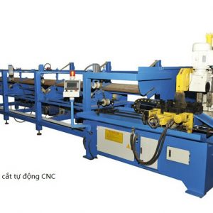 CNC全自动切管线-CNC full automatic aluminum cutting machine