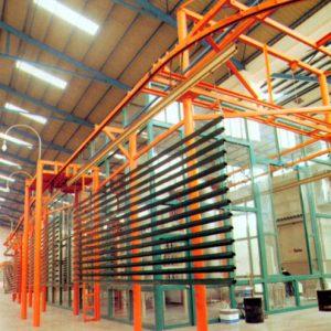 铝型材喷涂生产线-Aluminium profile spraying production line
